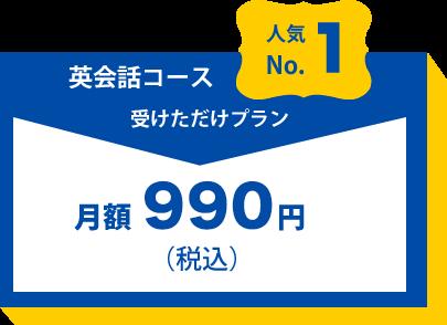 人気No.1英会話コース